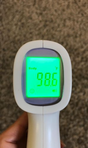 Instant Infrared Thermometer (New) photo review